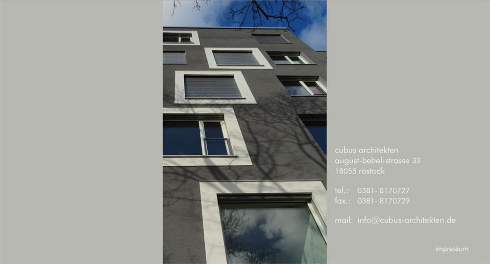 Architekten Rostock cubus architekten rostock